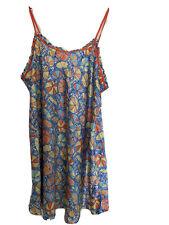 Cacique Nightgown Chemise Size 22-24 Sun Umbrellas EUC