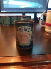 Vintage Heinz 57 Strained Baby Food Paper label Tin Can~ Strained Tomato Soup