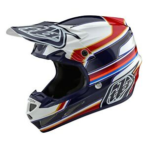 Troy Lee Designs Se4 Helmet Composite TLD Mx Motocross Enduro Atv Speed Red 2021