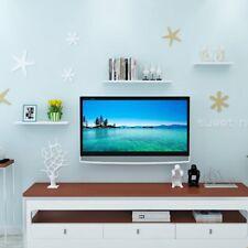 Set 3 White High Gloss Floating Wall Mounted Display Shelf Bookshelf Storage UK