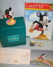 WDCC MILLENNIUM MICKEY:ON TOP OF THE WORLD COA/Mem Folder/Coin/Pin/Prints ~ NEW!