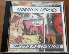 Nobody's Heroes Cartoons And Comicbooks CD (2004) Punk Rock Ramones The Queers