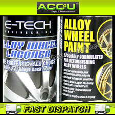 E-Tech Professional GOLD Car Alloy Wheel Spray Paint Lacquer Refurbishment Deal