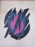 Lithographie épreuve d'artiste signée