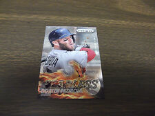 2013 PANINI PRIZM #F14 DUSTIN PEDROIA FEARLESS INSERT RED SOX--STORE