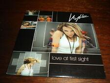 KYLIE MINOGUE RARE LOVE AT FIRST SIGHT PROMO CD ALT CVR