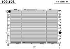 RADIATORE RAFFREDD. FIAT CINQUECENTO 900 - 900 ie -1.1 SPORTING - SEICENTO 1.1