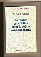 Islam: Arazi: La réalité et la fiction dans la poésie arabe ancienne, 1989, BE
