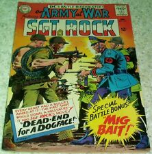 Our Army at War 161, VF- (7.5) 1965, 40% off Guide!