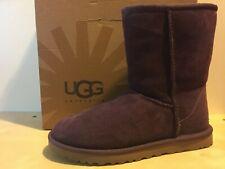 Ugg Australia Women's 5825 Classic Short Port Boots Sheepskin  7 US / 38 EU MINT