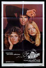 SHAMPOO * CineMasterpieces MOVIE POSTER HAIR STYLE SALON WARREN BEATTY HAIRSTYLE