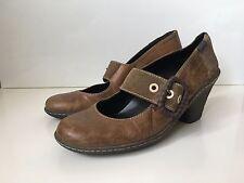 CAMPER Damen Pumps Gr. 37 Echtleder Braun Shoes Leather Schuhe