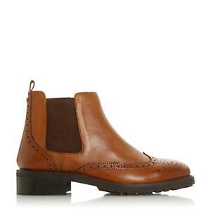 Dune Ladies QUARTERS Brogue Chelsea Boots
