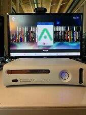 Xbox 360 Phat White Rgh 1.2 Console Only - 250Gb Hdd Loaded