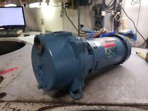 "GOULDS 3 HP WATER WELL JET PUMP 208-230/460 VAC 3450 RPM 1.5"" x 1.5"" GT303TE"