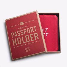 Izola Jet Set Passport Holder Red Unique