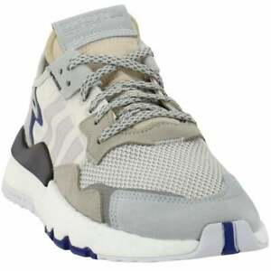 adidas Nite Jogger Mens  Sneakers Shoes    - Off White
