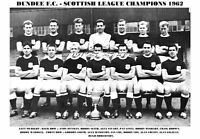 DUNDEE F.C.TEAM PRINT 1962 (SCOTTISH LEAGUE CHAMPIONS)