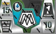 2020-21 Panini Soccer Mosaic Serie A Hobby Box Sealed  Very low print run