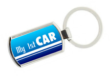 My 1st Car Keyring - Gift Idea Passed Test First Keys fob Boys Son Nephew