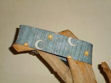 Moon Beams 2 Inch Custom Made Martingale Dog Collar