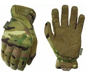 Mechanix Wear MultiCam FastFit Tactical Work Gloves Medium, CAMO, Free Shipping