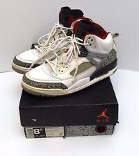 outlet store 411f1 1f2af Jordan Spizike White Cement Grey Varsity Red 315371-122 Men s Size 8.5 ...