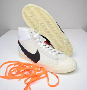 Nike Blazer Mid Off White The Ten Mens 15 Promo Sample AA3832-100