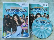 Nickelodeon Victorious Taking the Lead for Nintendo Wii / Wii U Game Complete