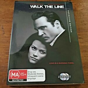 Walk the Line Definitive Edition DVD R4 Like New! – FREE POST