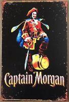 Captain Morgan Metal Tin Sign Metal Sign Metal Signs