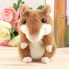 Cute Mimicry Pet Talking Record Speak Voice Copy Electronic Hamster Animal ToyXD