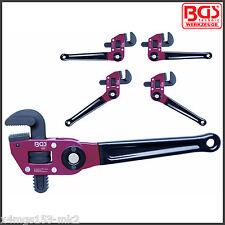 BGS - One Handed Pipe Wrench - Stillson - Multi Position - Pro Range - 528