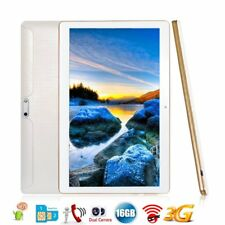 10.1 ZOLL HD TABLET PC ANDROID QUADCORE 16GB Dual SIM/Cam 3G WIFI GPS OTG 9G