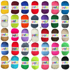 NEW PATO EVERYDAY DK DOUBLE KNIT KNITTING CROCHET YARN 100g BALL ARCRYLIC WOOL