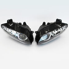 Black Motorcycle Front Headlight Head Lamp Assembly For Yamaha YZF-R1 2004-2006