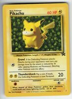 Pikachu - Black Star Promo - #1 - NM Condition - Collectible Pokemon Card