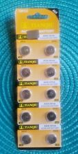 10 Pc's Watch Batteries  AG8  391 LR1120 FREE SHIPPING in the USA Exp. 2020