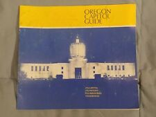 1970s Oregon (State) Capitol Information Info Guide Book Booklet Brochure