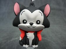 Disney Pinocchio * Figaro Figural Keychain * Kitten Collectible Key Chain Ring