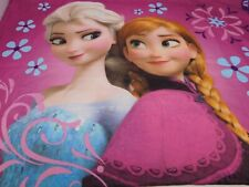 Disney Princess Frozen Anna Elsa Olaf Reversible Standard Pillowcase