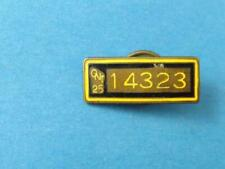 ONTARIO 1925 CHAUFFEUR LICENSED DRIVER PIN BADGE CANADA PLATE COLLECTOR