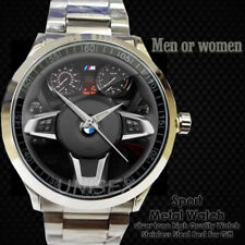 Reloj BMW Sterring M Power LOGO CAR Wheel SPORT METAL WATCH