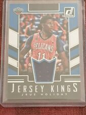 2017/18 Donruss Jrue Holiday Jeresy Kings Game Worn Jersey Card - Pelicans