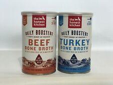Instant Turkey Beef Bone Broth Liquid Treat for Dogs 3.6 oz 03/20