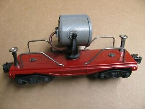 Lionel  # 2620  Search light car  prewar  EX