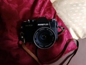 Revue Flex Sm302 mit Objektiv und Tasche