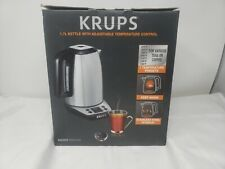 KRUPS SAVOY BW3140 1.7L KETTLE WITH ADJUSTABLE TEMPERATURE CONTROL