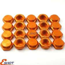 20pc RC 17mm Alum Wheel Hub Mount Nuts P1.0mm M12 For 1/8 Kyosho Losi XRay Mugen