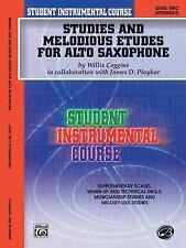Student Instrumental Course Studies & Melodious Etudes for Alto Saxaphone Level2